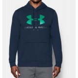 RIVAL FITTED GRAPHIC HOODIE Under Armour kapucnis felső