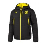 Borussia Dortmund Reversible Jacket black-cyber yellow