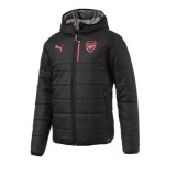 Arsenal FC Reversible Jkt Puma Black-Steel Gray