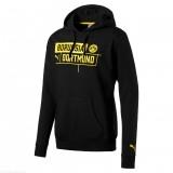 Borussia Dortmund Hoody Puma Black kapucnis felső