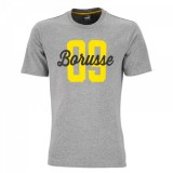 Borussia Dortmund BORUSSE Tee Medium Gray Heather szurkolói póló
