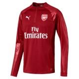Arsenal FC 1 4 Zip Top with Sponsor Logo felső