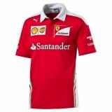 Scuderia Ferrari Team Polo rosso corsa póló