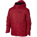 B NSW JKT FLEECE LINED Nike fiú kapucnis kabát