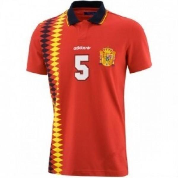 Spanyol válogatott szurkolói adidas galléros póló 9056efd3e7